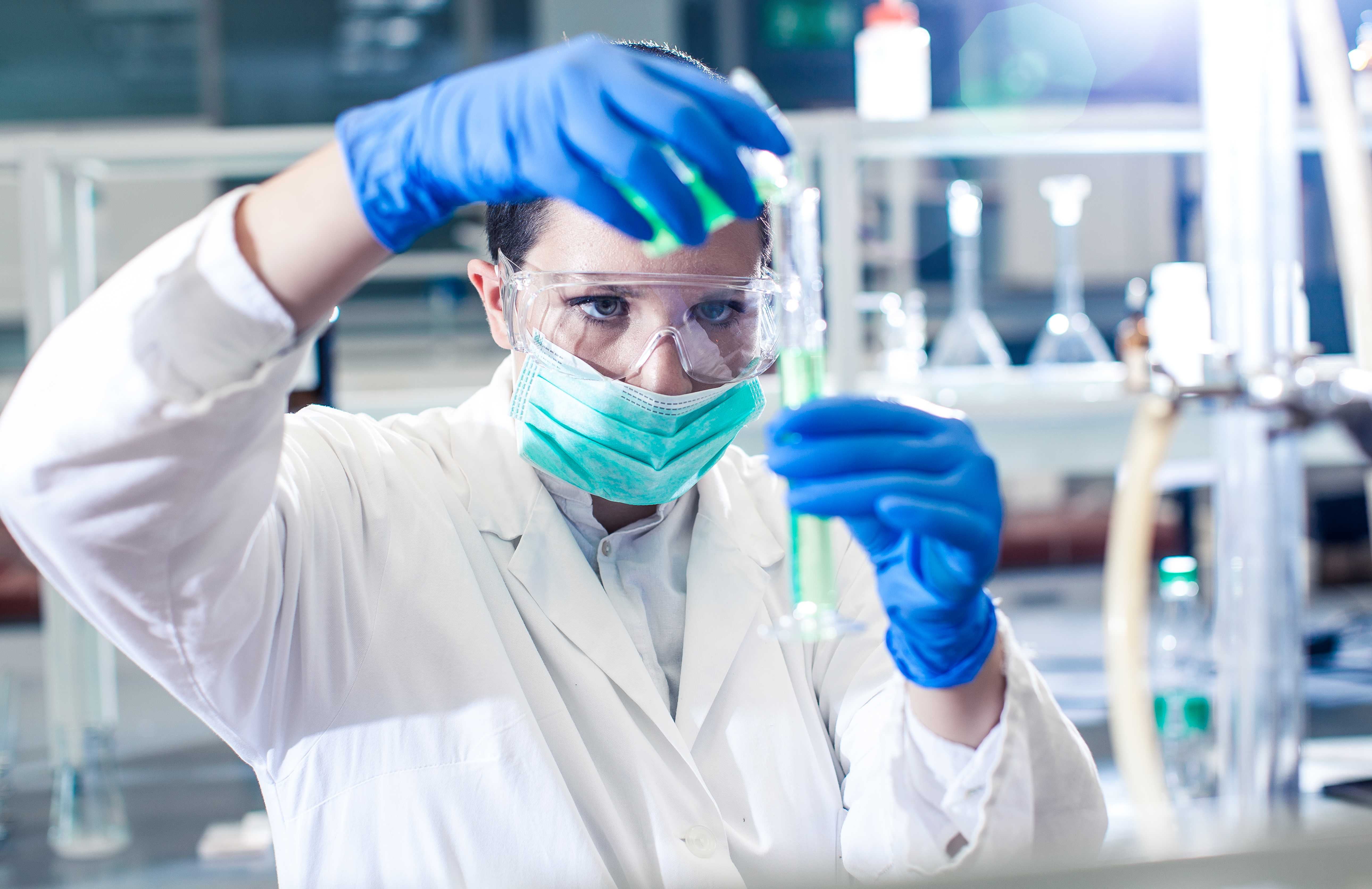 work as a medical laboratory technician