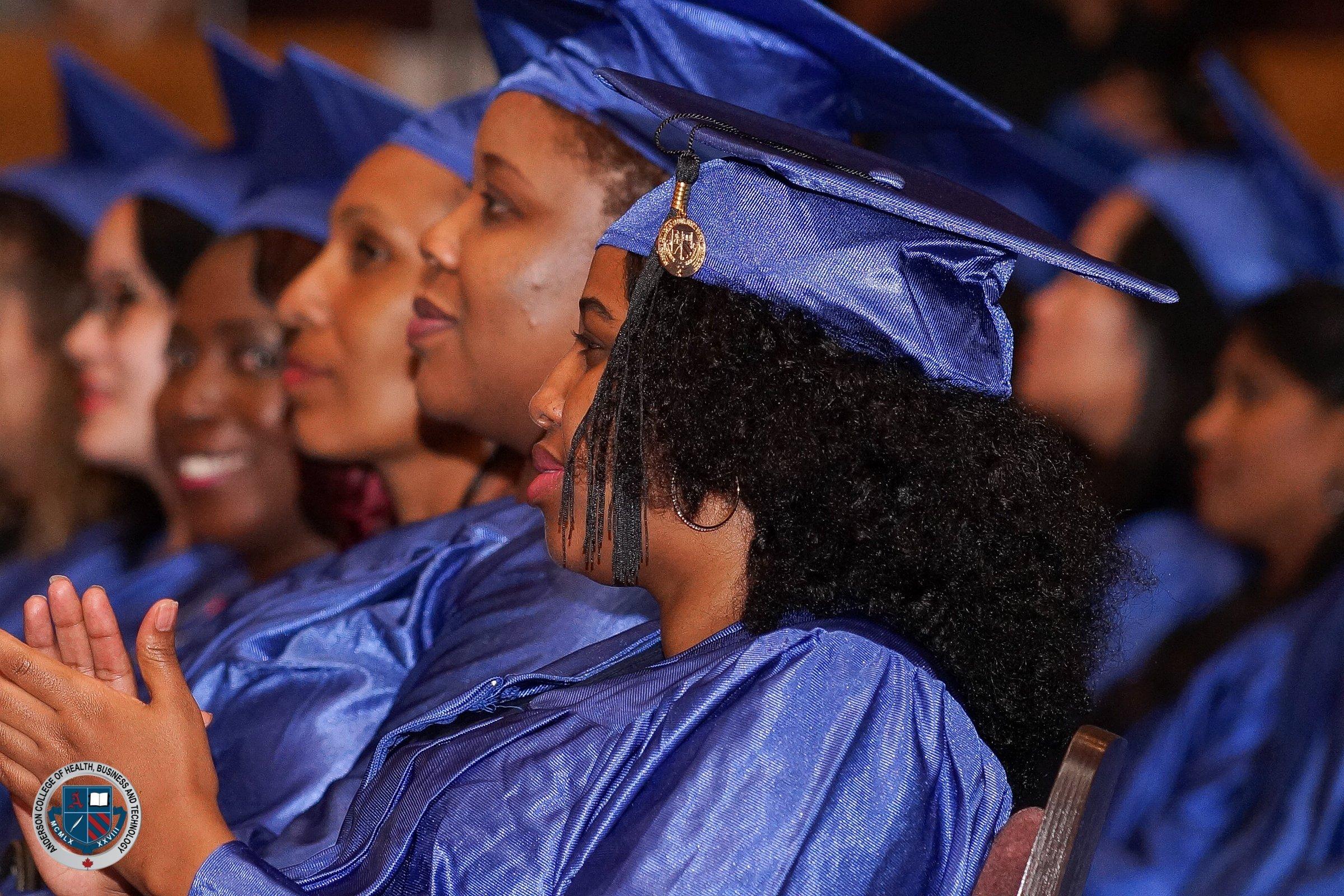 happy Anderson College graduates