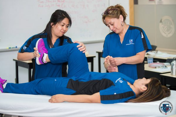 Physiotherapist Assistant students at Anderson College