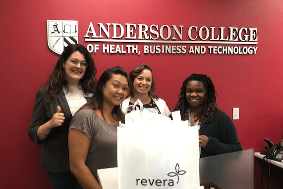 Anderson Signs Student Placement Agreement with Revera
